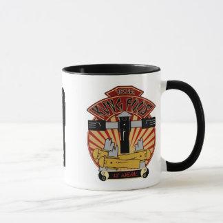 Votre Kung Foos est tasse de café faible