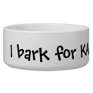 Votre logo ici choient le marketing promotionnel d bol pour chien