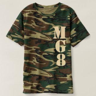 Votre monogramme sur le décor de camouflage t-shirts