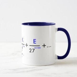 Votre nom dans pi - personnalisable ! mug