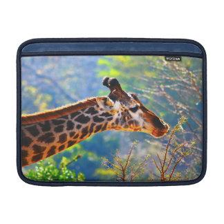 VOTRE PHOTO - coutume 13 de girafe dans le cas Poche Pour Macbook Air