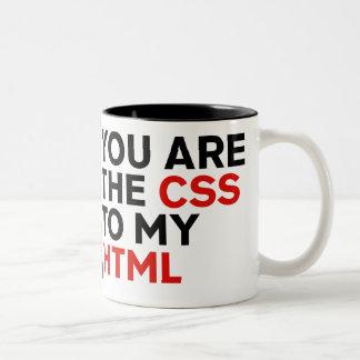 Votre sont le CSS à mon HTML Mug