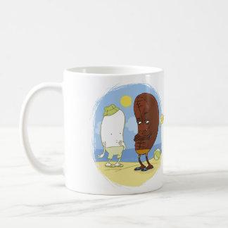 Voulez à l'haricot mug