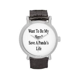 Voulez être mon des économies de héros la vie d'un montres cadran