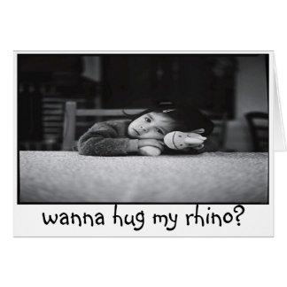 voulez étreindre mon rhinocéros ? carte