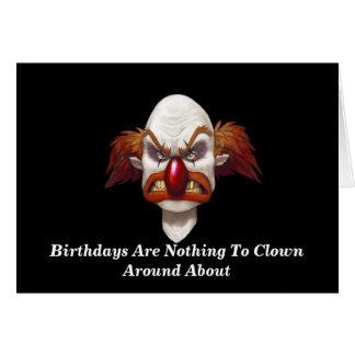 Voulez faire le clown autour ? - Carte