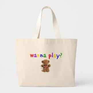 Voulez jouer ? grand sac