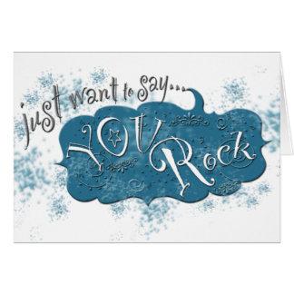 Voulez juste dire le ~ que vous basculez ! carte de vœux