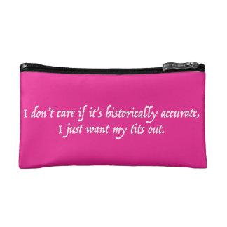 Voulez juste mon sac de maquillage de T*ts -