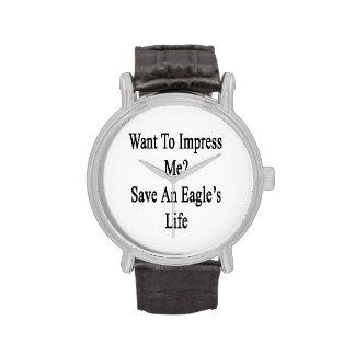 Voulez m'impressionner des économies par vie montres cadran