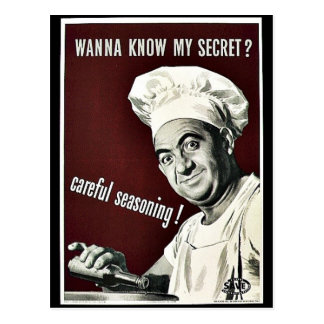 Voulez savoir mon secret ? cartes postales