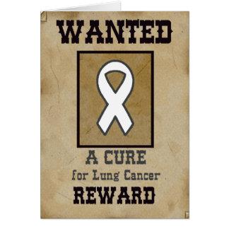 Voulu : Un traitement pour le cancer de poumon Cartes