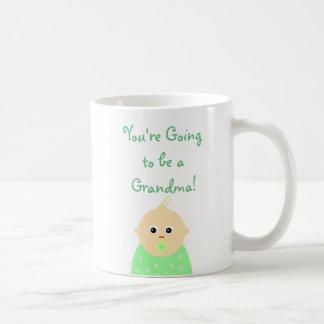 Vous allez être une tasse de café de grand-maman