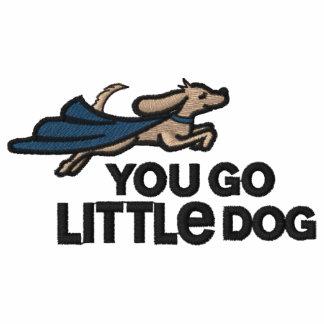 Vous allez polo brodé de petit chien