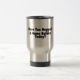 Vous avez étreints un constructeur de maisons mug de voyage