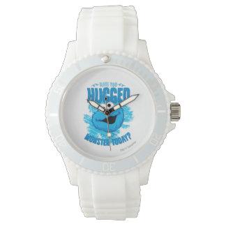 Vous avez étreints un monstre aujourd'hui montres bracelet