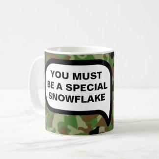 Vous avez gagné la récompense spéciale de flocon mug