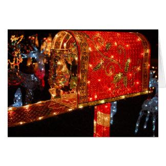 vous avez obtenu le courrier carte de vœux