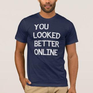 Vous avez semblé un meilleur poisson-chat en ligne t-shirt