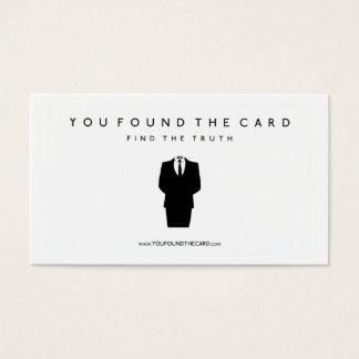 Vous avez trouvé la carte