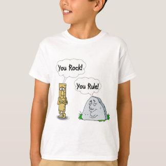 Vous basculez, vous ordonnez t-shirt