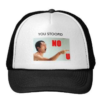 VOUS chapeau de nou de STOOPID Casquettes De Camionneur