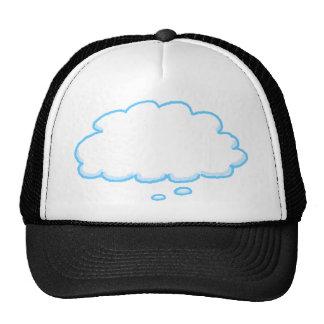 Vous concevez la bulle drôle de pensée ajoutez vos casquettes de camionneur
