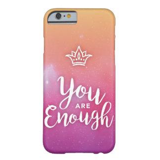 Vous êtes assez de cas de téléphone coque barely there iPhone 6