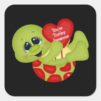 Vous êtes autocollant impressionnant de Valentine