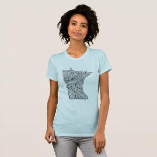 Vous êtes bienvenus, amour Minnesota T-shirt