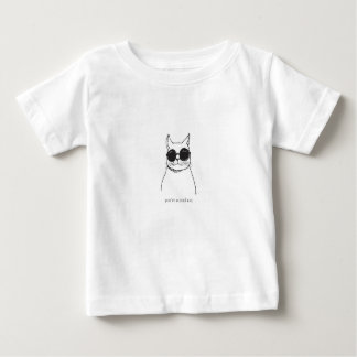 """""""Vous êtes corps illustré de bébé de chat d'un T-shirt Pour Bébé"""