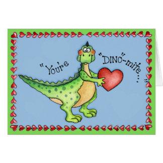 Vous êtes des Dino-acarides - carte de voeux