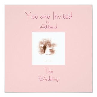 Vous êtes invités, à, êtes présents, TheWedding Carton D'invitation 13,33 Cm