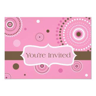 Vous êtes invités carton d'invitation  12,7 cm x 17,78 cm