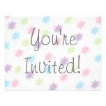 Vous êtes invités ! invitation personnalisable