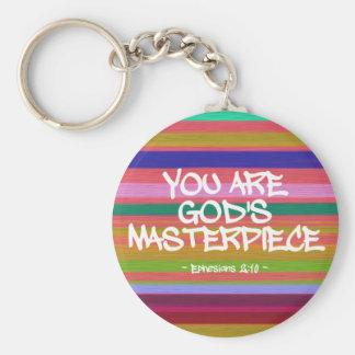Vous êtes la citation d'Ephesians du chef d'oeuvre Porte-clé Rond