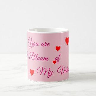Vous êtes la fleur de ma tasse de valentine