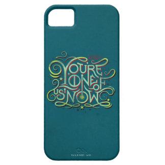 Vous êtes l'un de nous maintenant graphique vert coques iPhone 5 Case-Mate