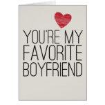 Vous êtes ma carte drôle d'amour d'ami préféré