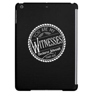 Vous êtes ma couverture de coque ipad des témoins