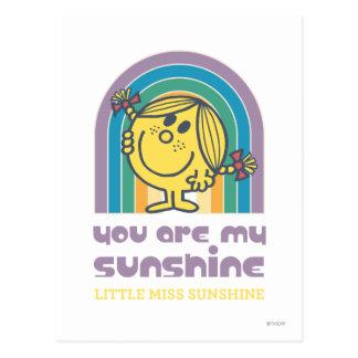 Vous êtes ma voûte de soleil carte postale