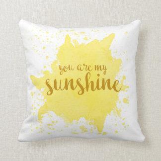 Vous êtes mon coussin de soleil