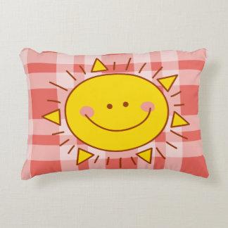 Vous êtes mon jour ensoleillé souriant mignon coussins décoratifs