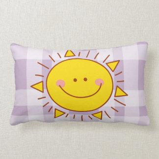 Vous êtes mon jour ensoleillé souriant mignon oreiller