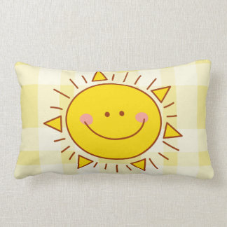 Vous êtes mon jour ensoleillé souriant mignon oreillers