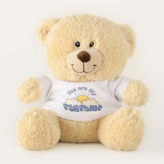 Vous êtes mon ours sentimental de soleil