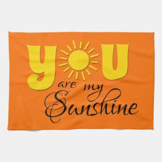 Vous êtes mon soleil linges de cuisine