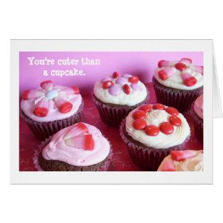 Vous êtes plus mignons qu'un petit gâteau cartes de vœux
