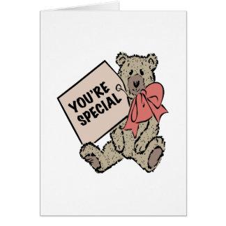 Vous êtes spéciaux cartes de vœux