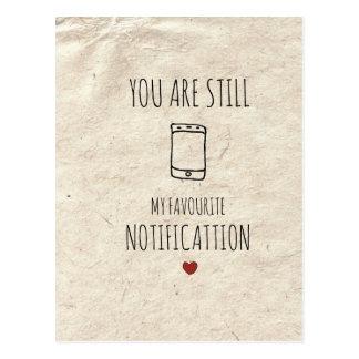 Vous êtes toujours mon avis préféré cartes postales